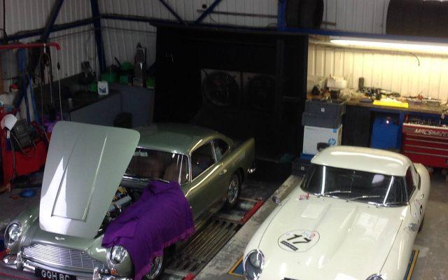 Aston Martin DB5 & Jaguar E Type